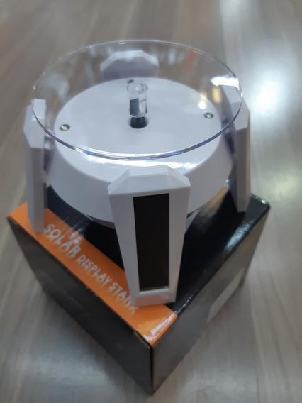 Base Giratória Com Luz Para Celular Ou Relógio