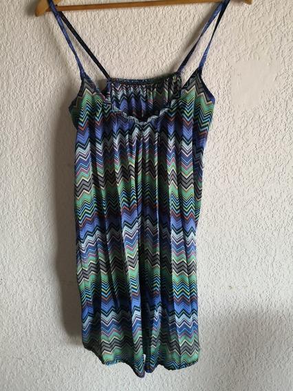 Vestido Suelto De Colores
