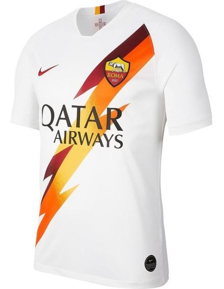 Camisa 2 A.s. Roma Away 2019 - Adulto Torcedor - Branco Masc