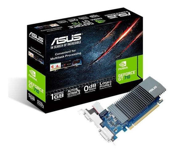 Placa de video Nvidia Asus GeForce 700 Series GT 710 710-1-SL 1GB