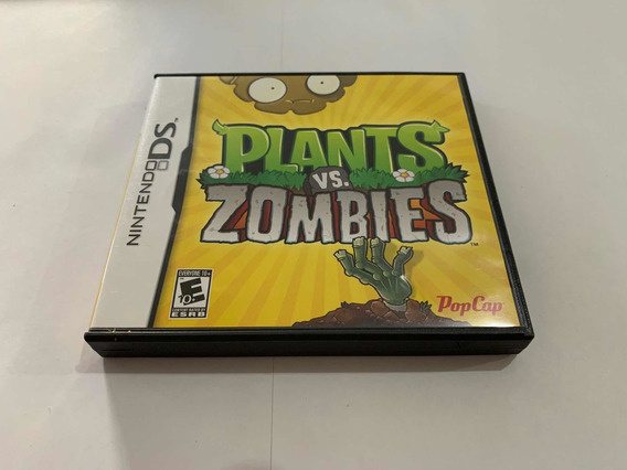 Plants Vs Zombies Nintendo Ds Dsi 2ds 3ds Jogo Original Game