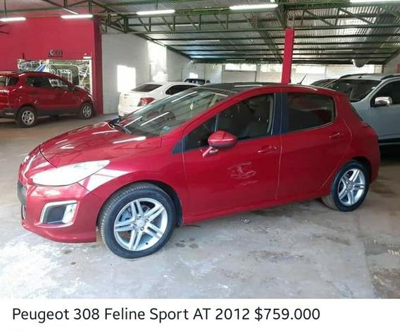Peugeot 308 2.0 Feline 143cv Tiptronic 2012