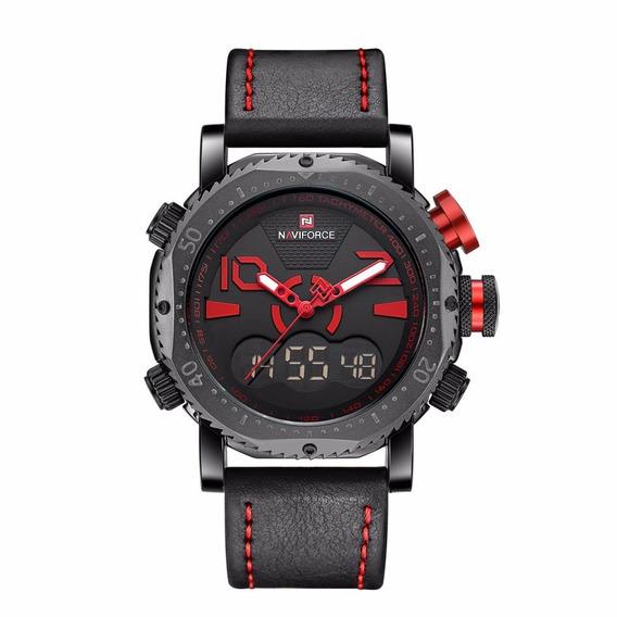 Relógio Masculino Militar Esporte Digital Naviforce Original