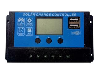 Regulador De Carga Para Paneles Solares 12/24 V - 20 A