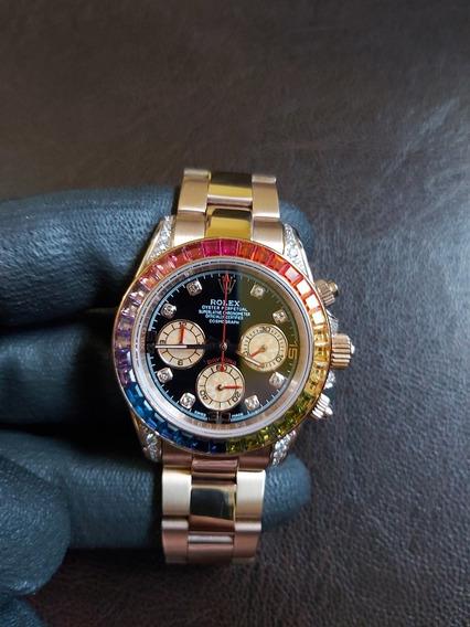 Relógio Daytona Arco Íris Premium