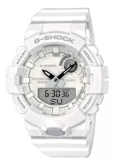 Relógio Casio G-shock Gba-800-7adr Branco Original