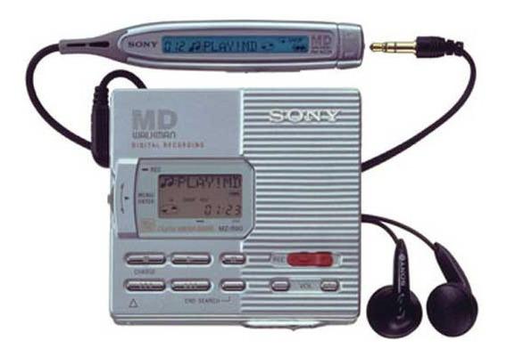 Md Minidisc Walkman Sony Mz-r90 Digital Recording