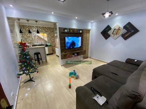 Imagem 1 de 6 de Sobrado Com 2 Dormitórios À Venda, 160 M² Por R$ 212.000 - Loteamento Baxmann - Ferraz De Vasconcelos/sp - So2094