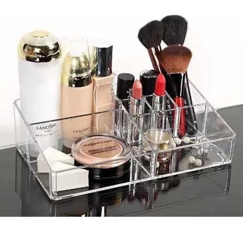 Imagen 1 de 5 de Organizador De Cosmeticos Acrilico Para Maquillaje H8061