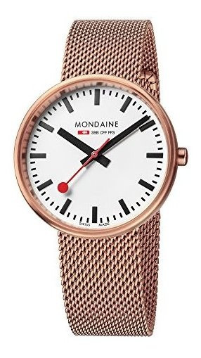 Mondaine Sbb Mini Giant Reloj De Pulsera Para Mujer (modelo:
