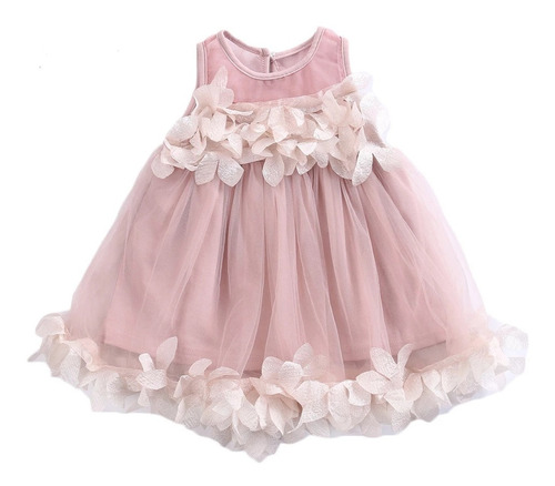 Vestido Para Niña Amplio Flojo Fresco Fiesta