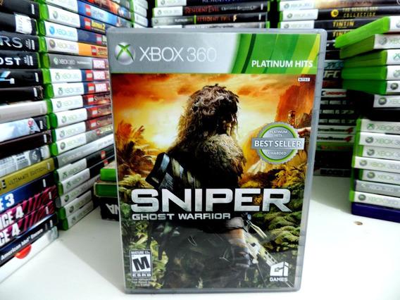 Sniper Ghost Warrior Xbox 360 Original