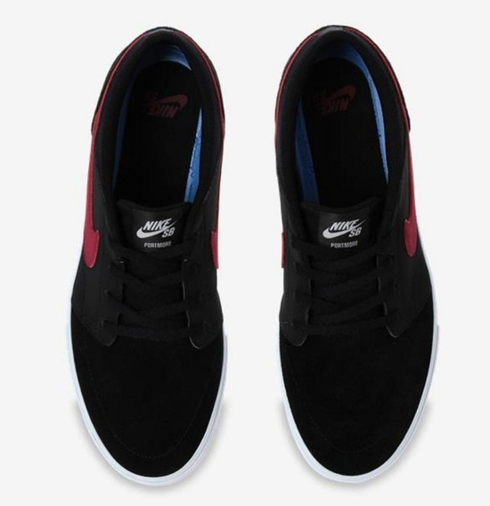 Tênis Couro Nike/original Sb Portemore 2 Solar Masculino