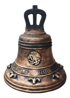 Campana Mexico 1810 - Campana De La Independencia De Bronce