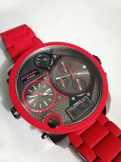Reloj Diesel Mr. Daddy Color Rojo