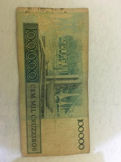 100.000 Cem Mil Cruzeiros Jk
