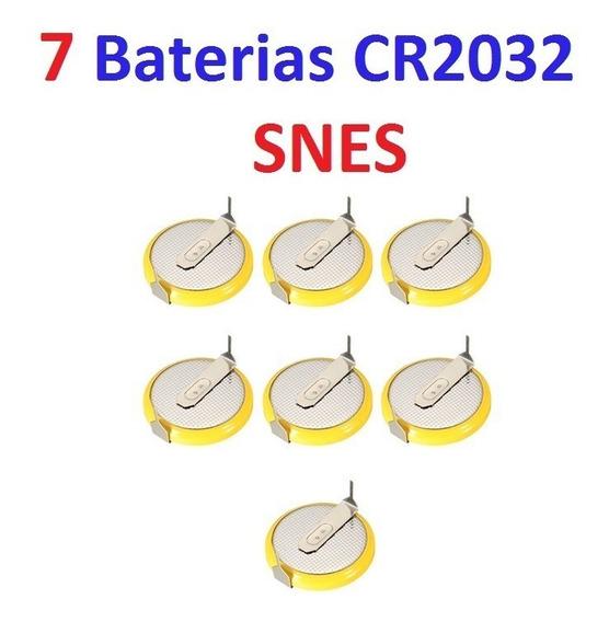 7 Baterias Cr2032 Cartucho Snes C Pinos