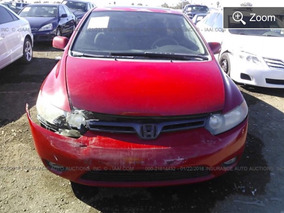 Honda Civic 07-11 Ex Yonkeado Para Partes