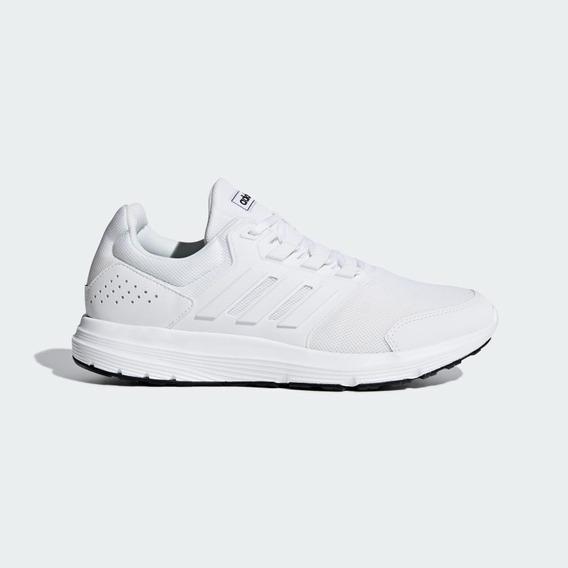 Tenis adidas Galaxy 4 Cloud White Hombre Blancos