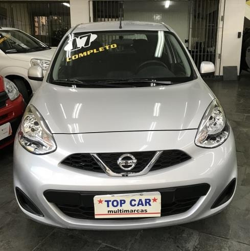 Nissan March 2017 Sv 1.0 - Carro Completo