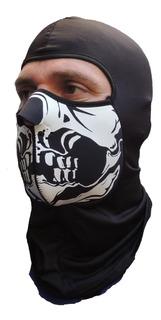 Mascara Calavera Frio Moto Neoprene Cuello Casco Invierno