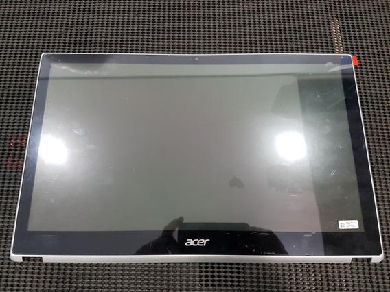 Display Com Aro Frontal B156xtn03.1 Para Acer Aspire V5-571