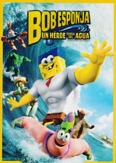Bob Esponja Un Heroe Fuera Del Agua Pelicula Dvd