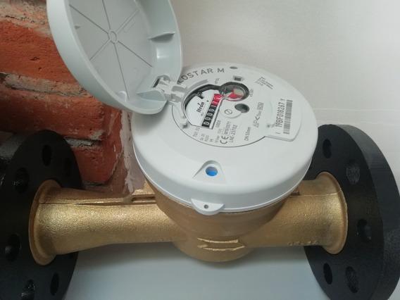 Medidor Para Agua Potable Flostar M De 2 Bridado Clase C