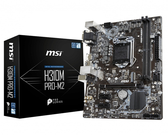 Placa Mãe Msi H310m Pro-m2 Soquete Intel 1151