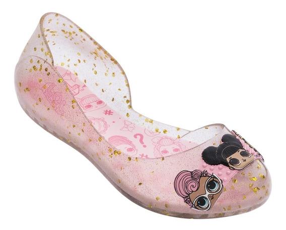 Sapatilha Infantil Glitter Lol Club Rosa Ipanema