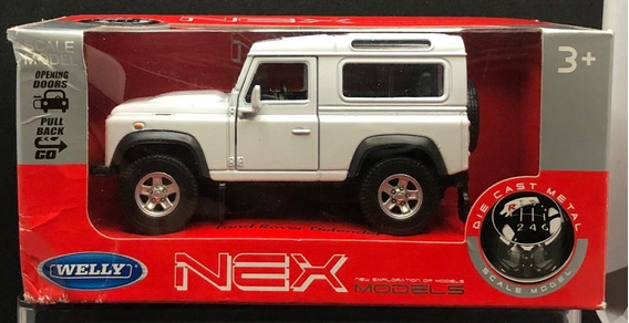 Land Rover Defender 90 Welly 1/34