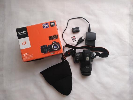 Câmera Sony Semi Profissional Alpha A37