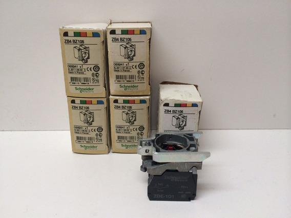 Na Caixa Interruptor Schneider Bases Zb4-bz105 29954 X1
