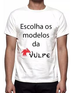 Kit 3 Camisetas Estampa Total Modelos Da Vulpe Frete Gratis