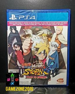 Naruto 4 Road To Boruto * Nuevo * Español * Fisico * Ps4