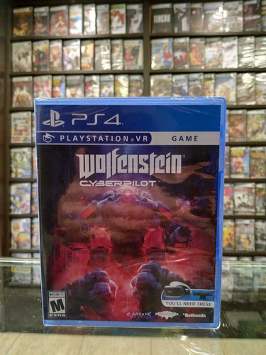 Wolfenstein Cyberpilot Ps4 Fisico Sellado Sinaloamdq