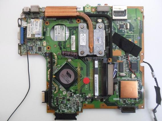 Placa Principal Mãe Main Sti Notebook Is 1462 C/ Defeito