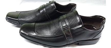 Sapato Masculino Social Couro Tonifran 000834 - Preto