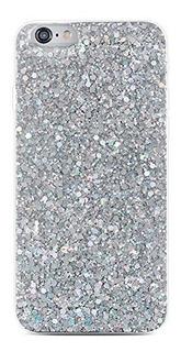 iPhone X Bling Case Sparkle Ombre Lentejuelas Polka Dot Air