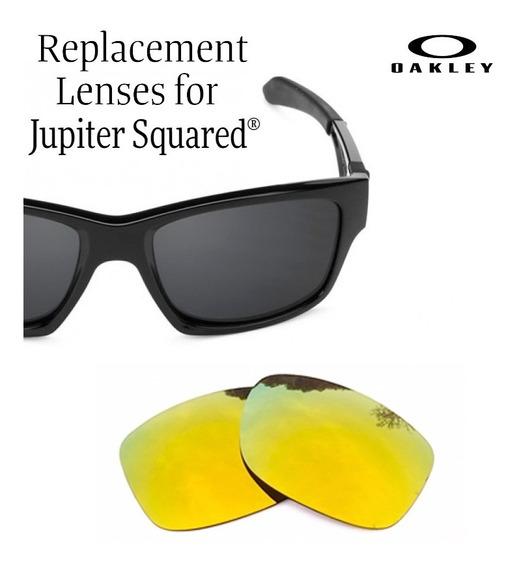 Micas De Reemplazo Para Oakley Jupiter Squared Color 24k