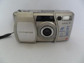 Câmera Máquina Fotográfica Antiga Olympus Af Infinity 76
