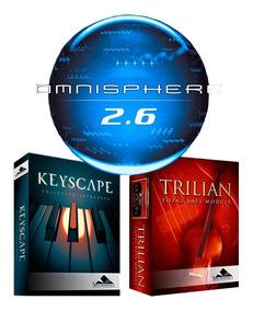 Spectrasonics Omnisphere 2.3 + Keyscape Trilian Mac/win