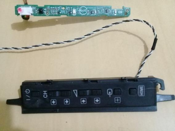 Placa Teclado E Sensor Remoto Tv Sony Kdl-32ex355, Originais