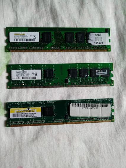 Memoria Ddr2 1+1+1 3gb 667mhz Markvision Desktop
