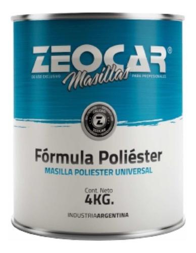 Zeocar Masilla Plastica - 4kgs