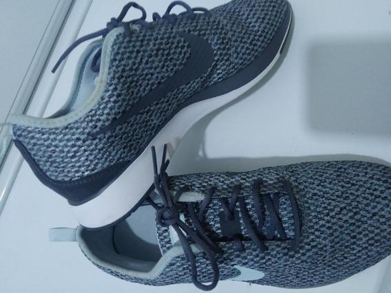 Tenis Nike Dualtone Racer Color Gris Para Dama Num 7