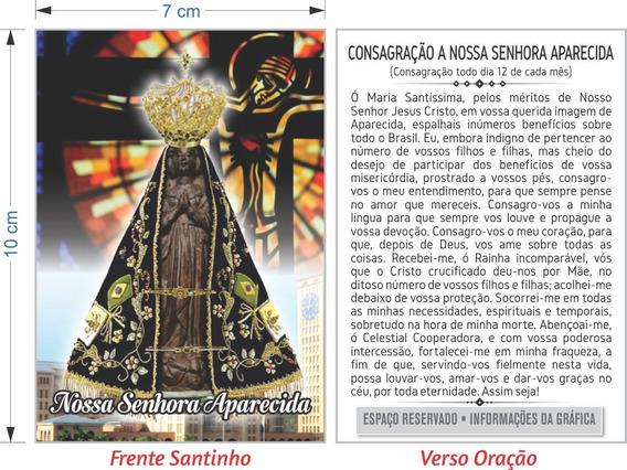 Santinho Nossa Senhora Aparecida (milheiro Pagar Promessa)