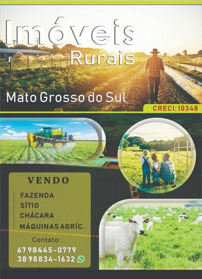 Fazendas A Venda Em Mato Grosso Do Sul (imóveis Rurais)