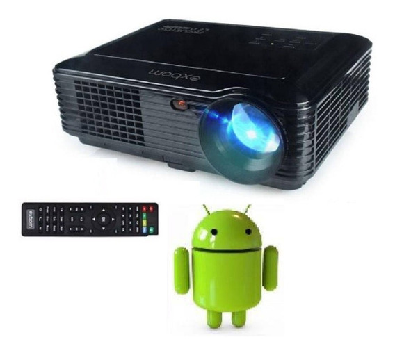 Projetor Led Wifi Bluetooth Hdmi Android Sd Usb Perfeito