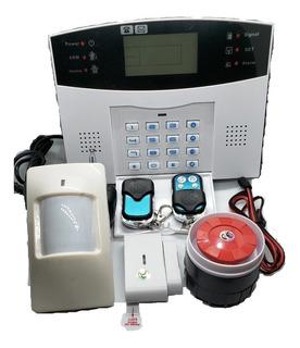 Kit Alarma Gsm Chip Celular 99 Zonas Inalambrica Sin Rentas